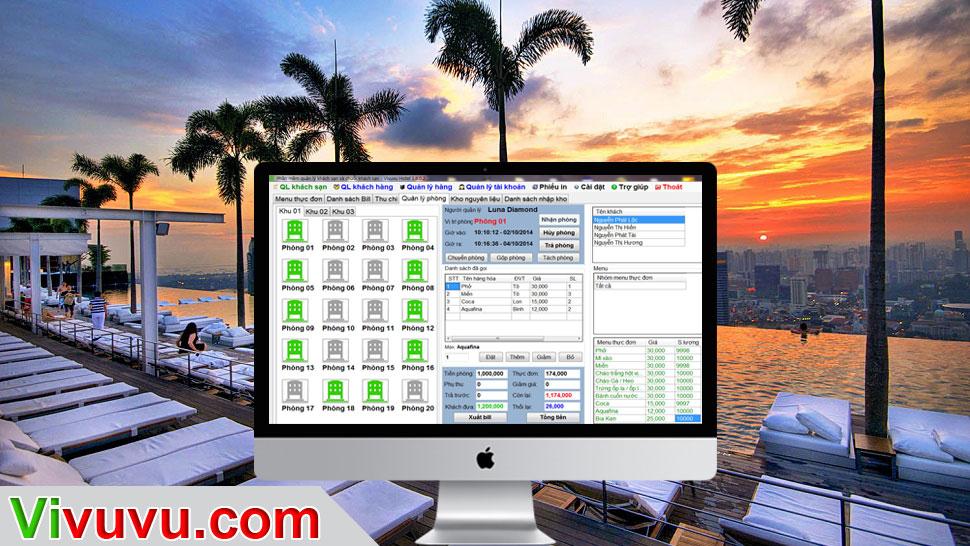 Phần mềm quản lý nhà trọ nhà nghỉ đà nẵng hà nội hcm
